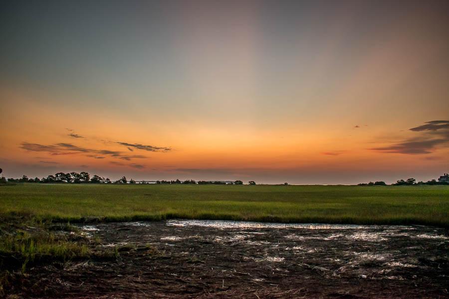 marsh sunrise on Hilton head island