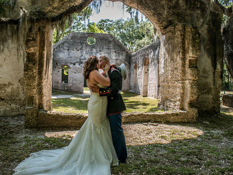 Real Elopements 2019 at the Chapel of Ease Ruins