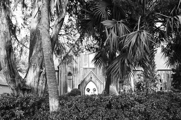 historic church in old town bluffton sc