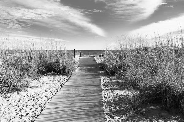 Beach path to Folly Field Beach for a beach elopement on Hilton Head Island