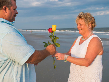 Rose Ceremony as Part of your Elopement Wedding Ceremony!