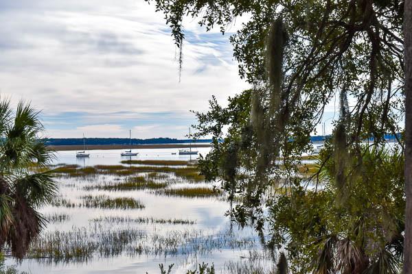 classic beaufort sc view for elopement
