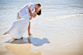 morning beach elopement at Hilton Head SC