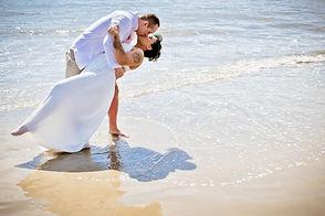 morning beach elopement at Hilton Head SC