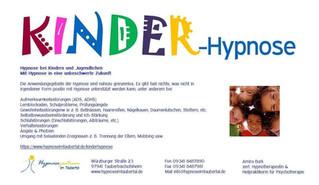 Kinderhypnose - Kostenfreie Infoveranstaltung