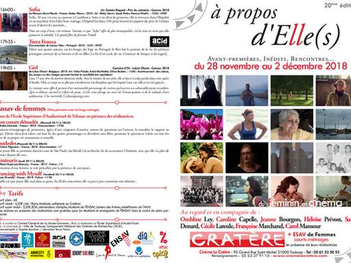 """Retrouvez """"Liminaris"""" pendant le festival """"A propos d'Elle(s)"""" au cinéma le"""