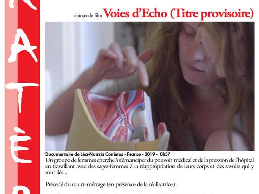 Première projection de Voies d'Echo !