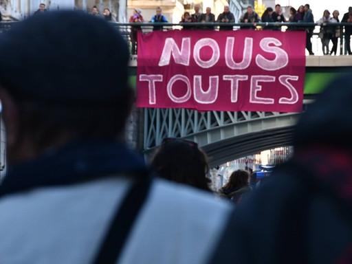 Manifestation Stop aux violences faites aux femmes