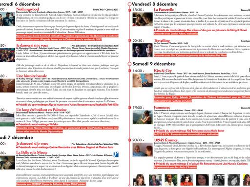 """Retrouvez nos films pendant le festival """"A propos d'Elle(s)"""" au cinéma le Cratère du 6"""