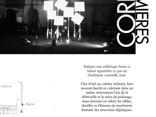 Corrida de Lumières : une installation sur le thème du cinéma militant !