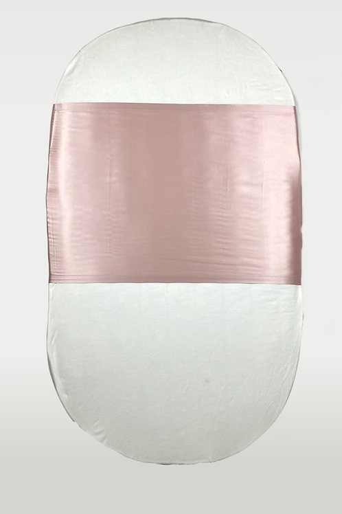 only   a silk cot slip - blush
