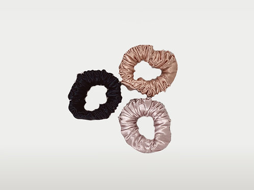 only | a silk scrunchie - triple pack (baby)