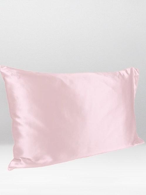 only | a silk pillowcase - blush