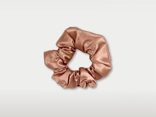 only | a silk scrunchie - rose gold (the og)