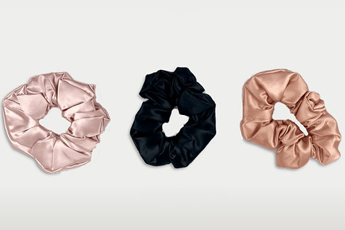 only | a silk scrunchie - triple pack (the og)