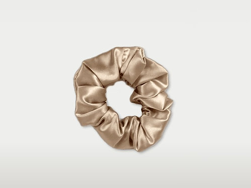 only | a silk scrunchie - champagne (the og)