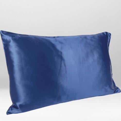 only | a silk pillowcase - navy