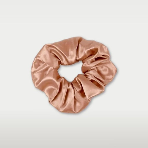 only | a silk scrunchie - rose gold (biggie)