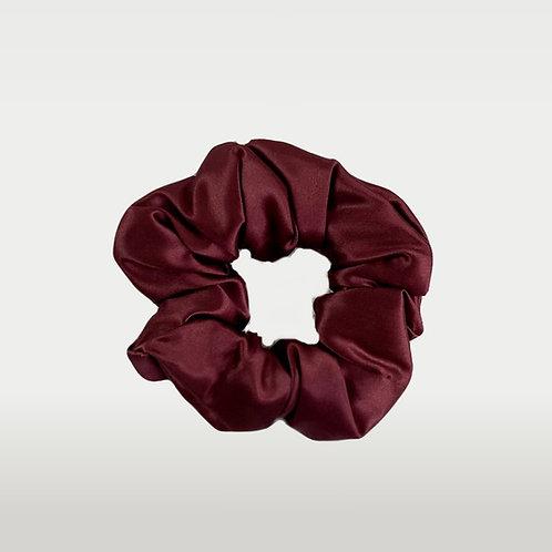 only   a silk scrunchie - wine (the og)