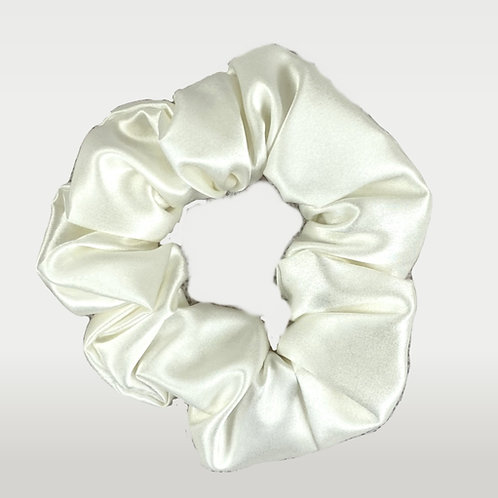 only | a silk scrunchie - ivory (the og)