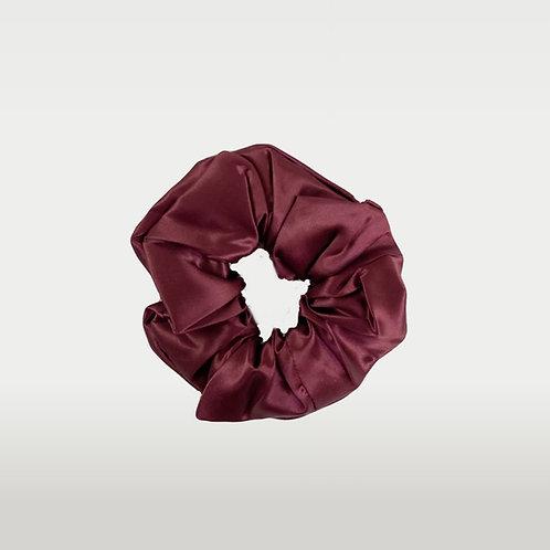 only | a silk scrunchie - wine (biggie)