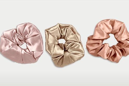 only | a silk scrunchie - triple pack (biggie)