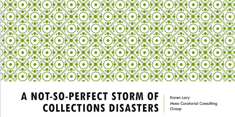 A Not-So-Perfect Storm of Collections Disasters: A Case Study