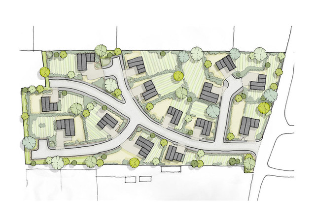 Sustainable new build homes