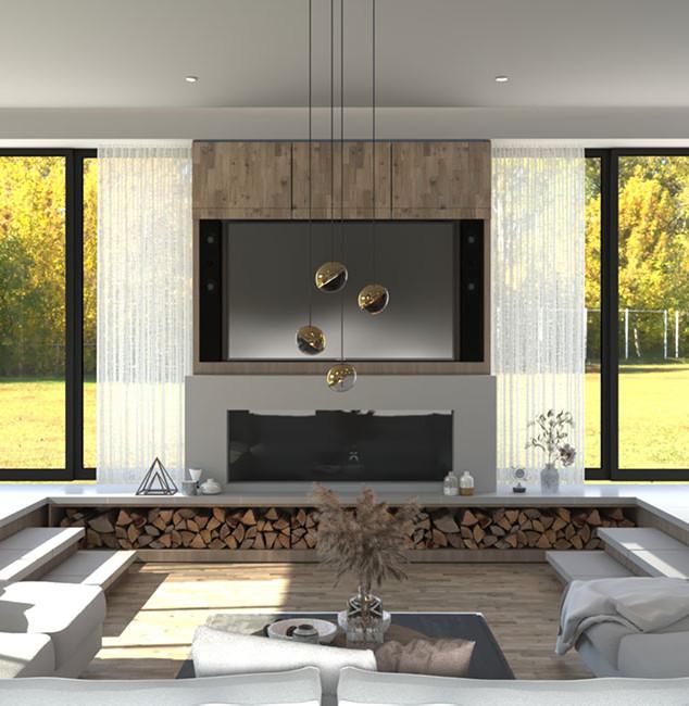 Sunken living space