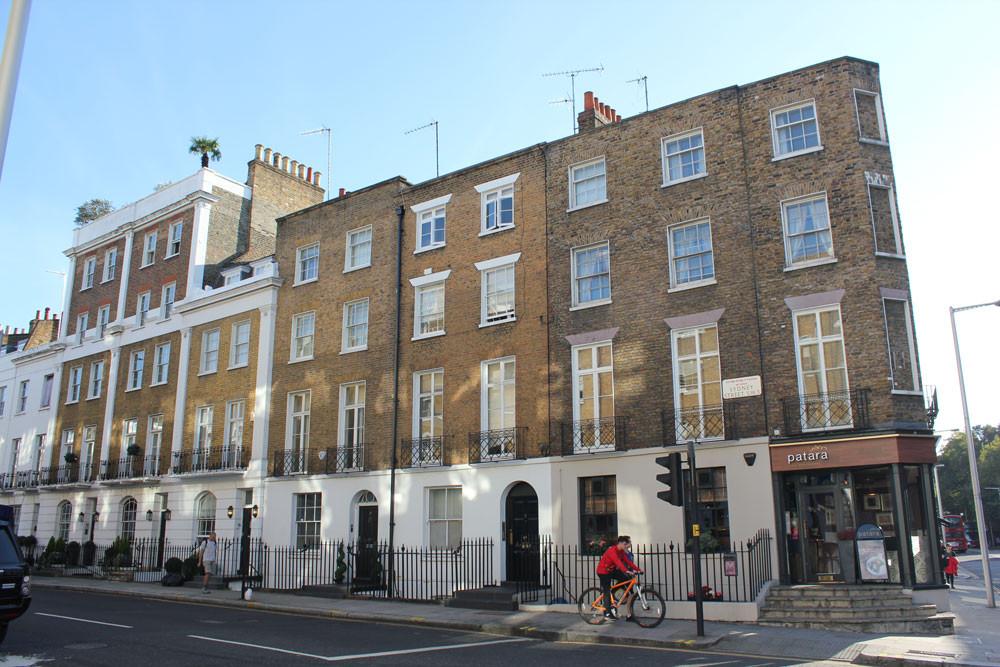 Basement and mansard extension, Chelsea