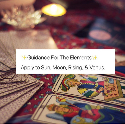 Elemental Advice & Check In