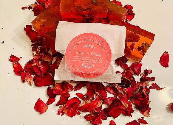 Rose + Honey Soap
