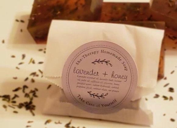 Lavender + Honey Soap