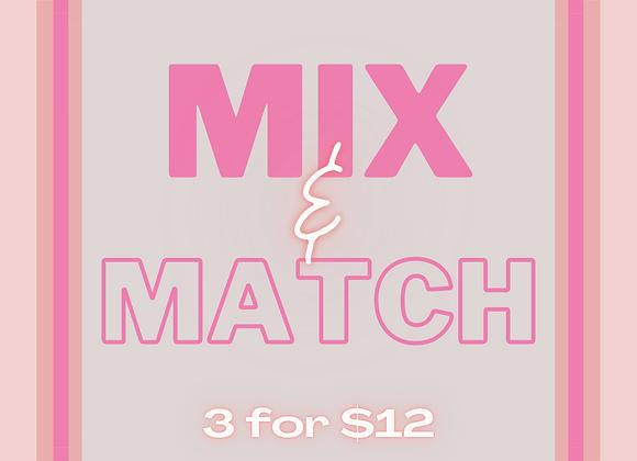 3 Sprays for $12