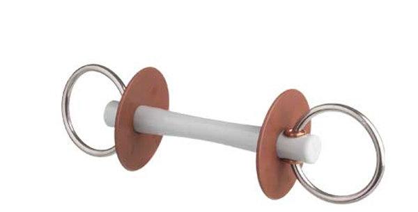 Beris Snaffle Comfort thin, 7,5cm ringar