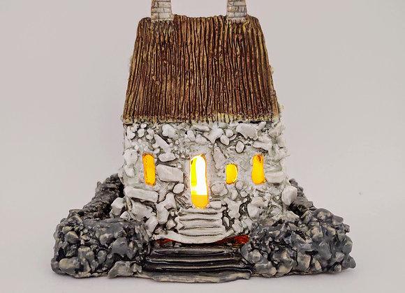 Illuminated Cottage House