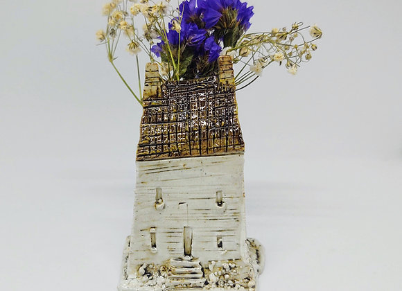 Cottage House Tiny Vase