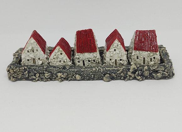 Tiny Cottage Village Set