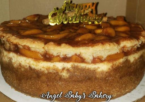 Peach cobbler cheesecake!.jpg