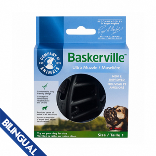 Company of Animals® Baskerville™ Muzzles Size 1-6
