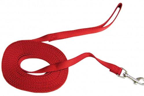Hamilton® Nylon Training Lead Red
