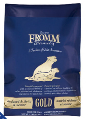 Fromm® Gold Reduced Activity & Senior Dry Dog Food
