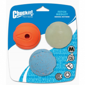 Chuckit!® Fetch Medley Balls Dog Toy