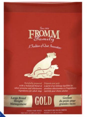 Fromm® Gold Large Breed Weight Management Dry Dog Food