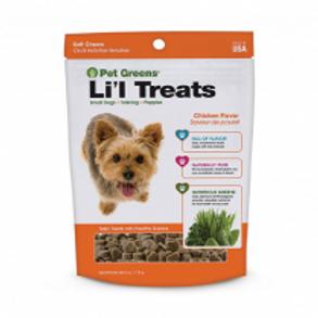 Pet Greens® Li'l Treats  Dog Treat 6 oz