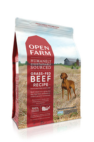 Open Farm® Grass-Fed Beef Dry Dog Food