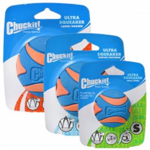 Chuckit!® Ultra Squeaker Balls  (1 Pack) Dog Toy