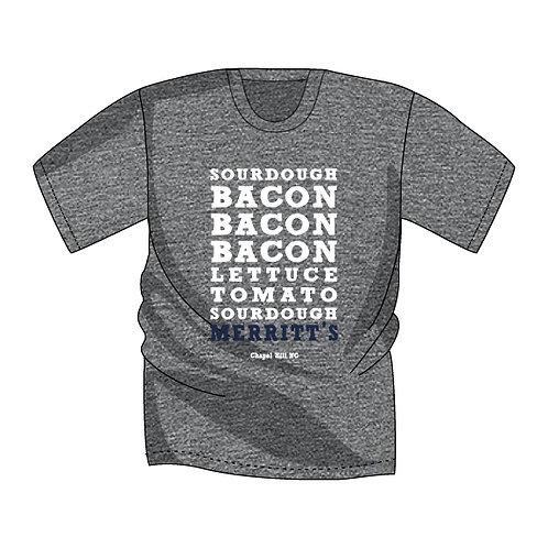 Merritt's Grill Bacon Bacon Bacon (Short Sleeve)