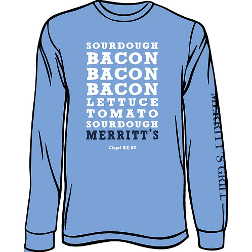 Merritt's Grill Bacon Bacon Bacon (Long Sleeve)