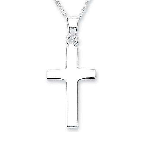 Silver Cross Pendant - 4183-2
